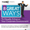 Infographic: 8 Ways to Improve Corporate Environment