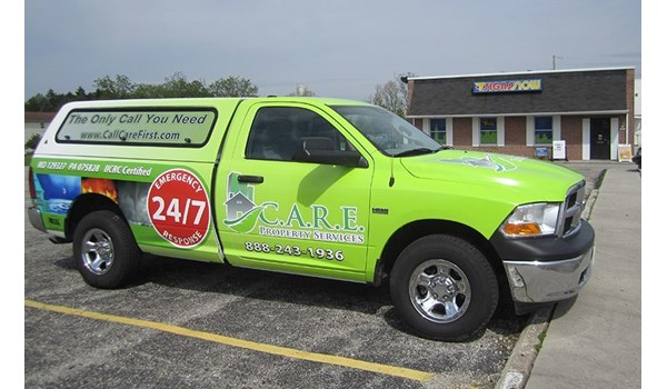 CARE Property Services has been using Signs Now Hanover for all the fleet vehicles. We developed a design that can be incorporated onto a large variety of vehicles.