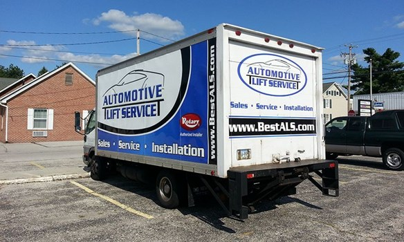 Full vehicle wraps are a great way to advertise with your truck or car.